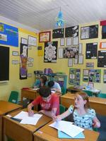Class 3 hard at work in their classroom