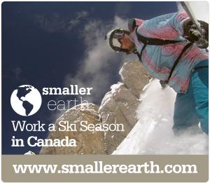 Smaller Earth - Ski Canada