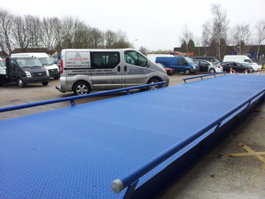 Brand new hire weighbridge
