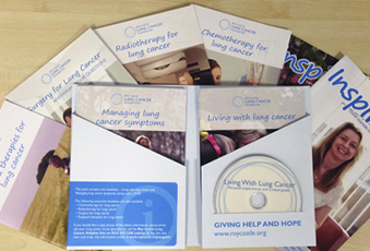 Lung cancer information pack