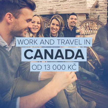 V Kanadě můžeš pracovat v létě i v zimě.