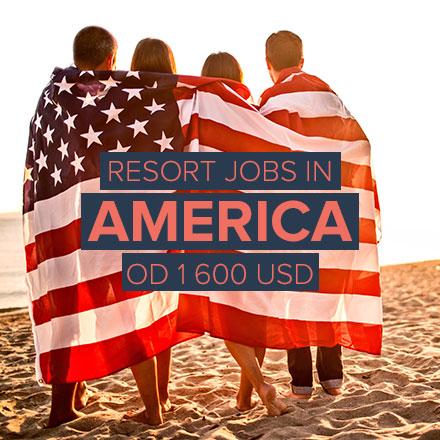 Pracuj v luxusním americkém resortu přes léto!