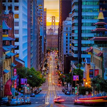 travel San Francisco after Camp