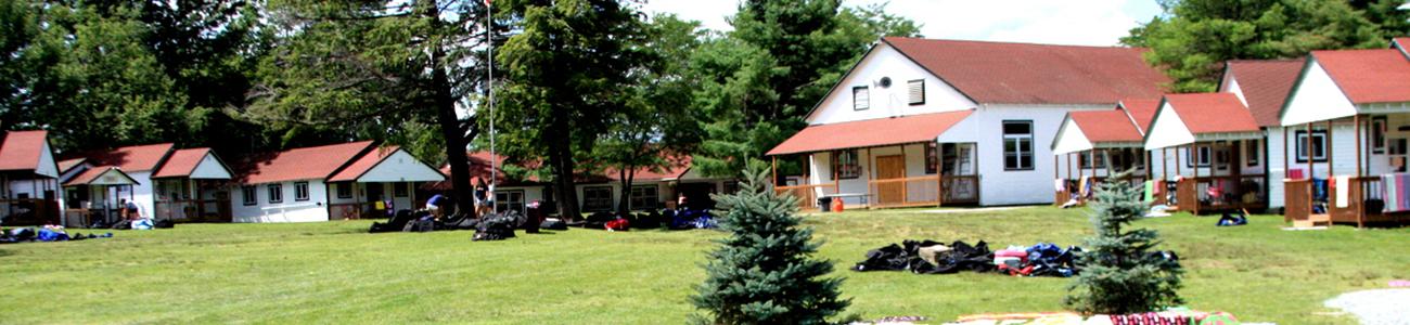 a stunning american camp