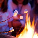 campfire at camp