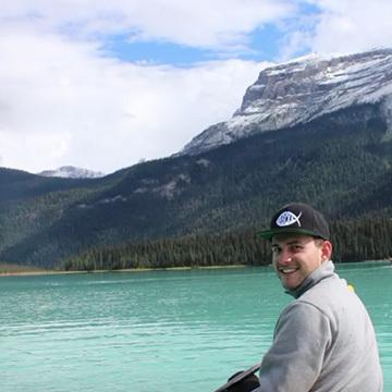 Matt's travels between two summers at camp