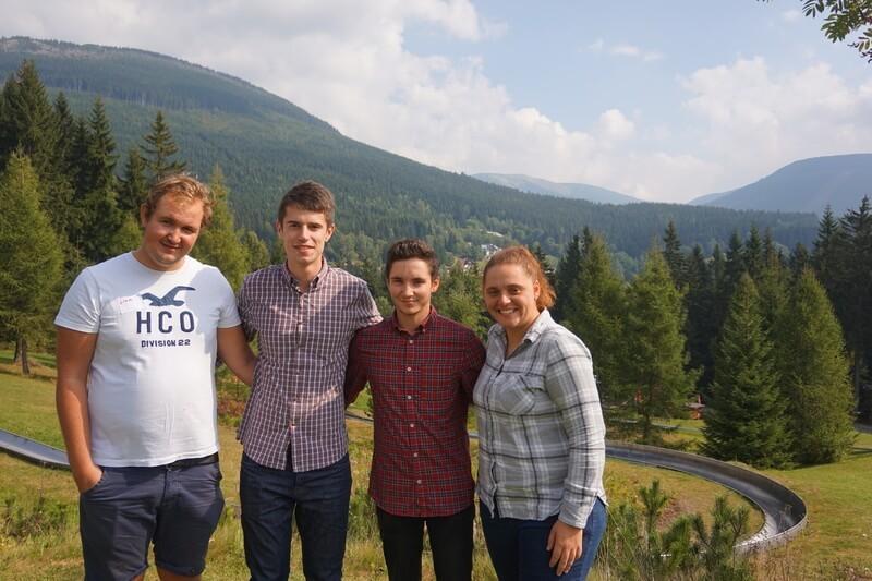 Gilli, Liam, James, George