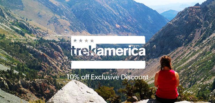 TrekAmerica Discount