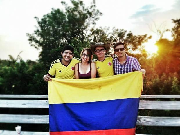 Luis, Suanyeill, Hugo, Juan
